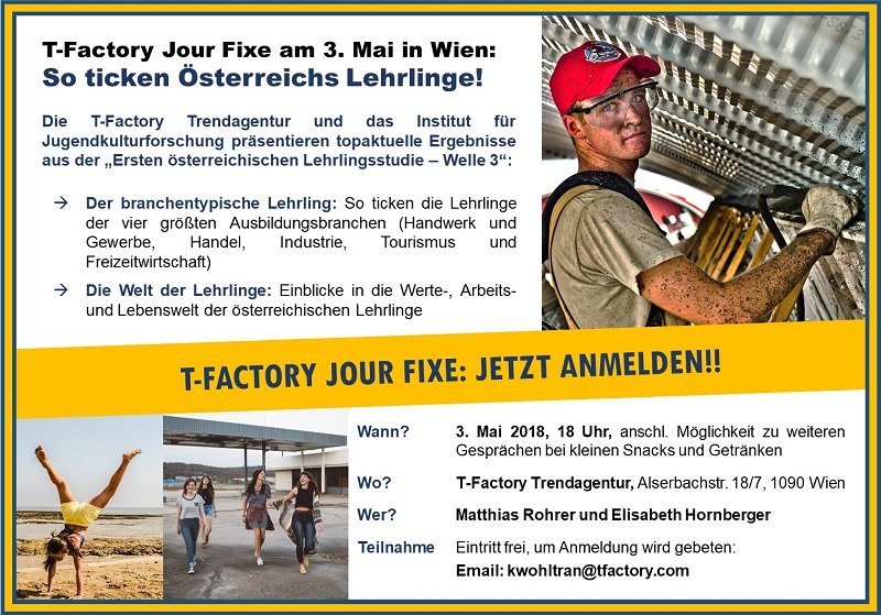 Flyer T-Factory Jour-Fixe