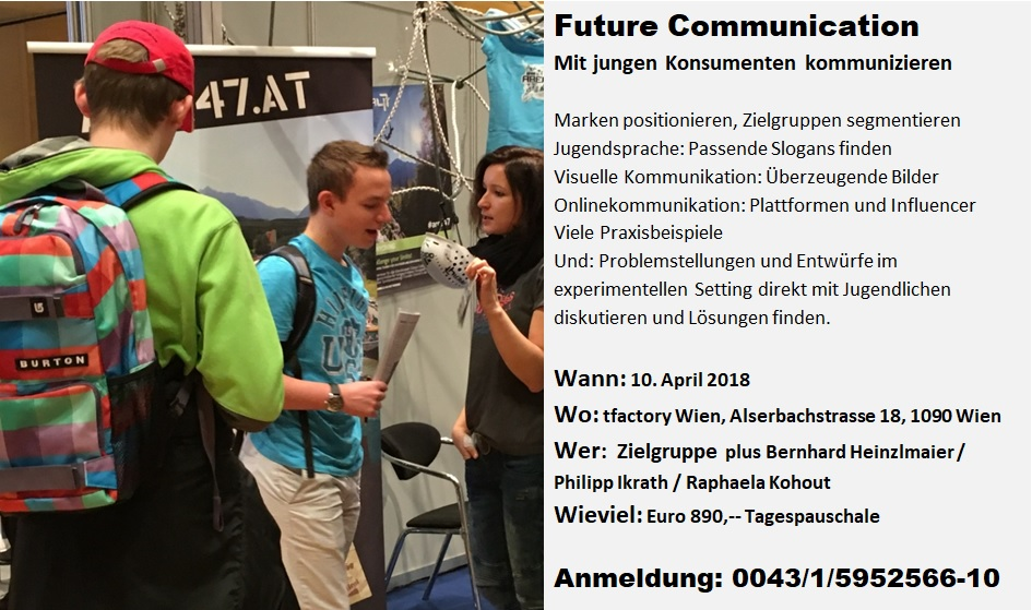 Flyer Seminar Future Communication